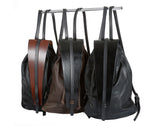 Medium Sized Leather Backpack