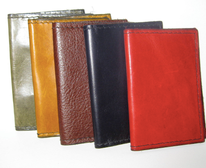 Minimalist Wallet, Leather Credit Card Wallet