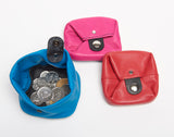 Handmade Colourful Leather Coin Purse