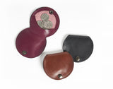 Genuine Leather Coin Purse With Tray