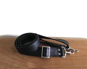 "1.5"" Wide Crossbody Removable Leather Purse Strap, Replacement Strap"