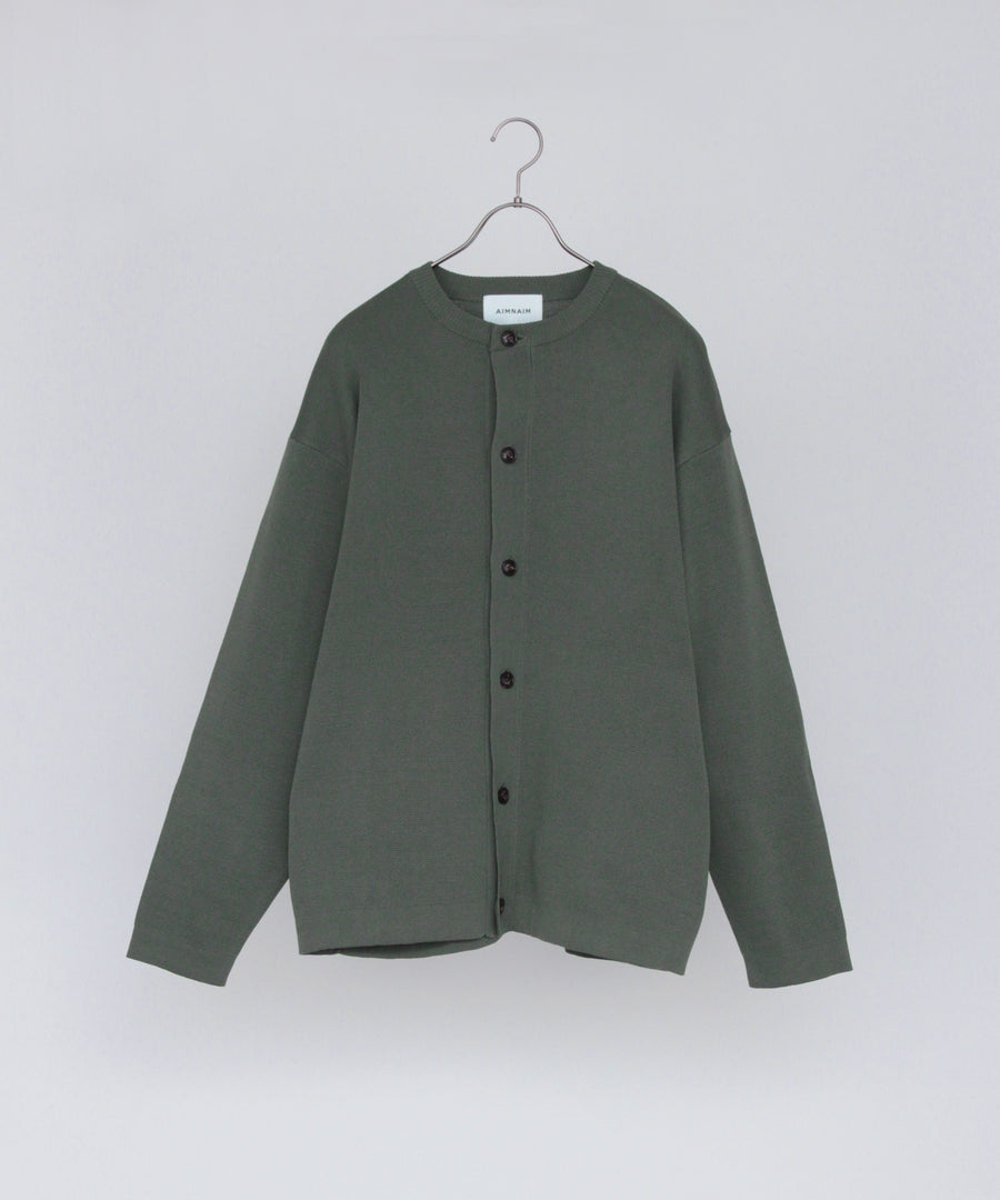HARDTWIST KNIT CARDIGAN(Green Gray)