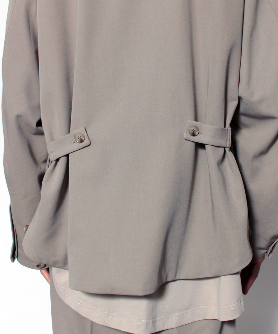 SOUTIEN COLLAR JACKET (Gray)