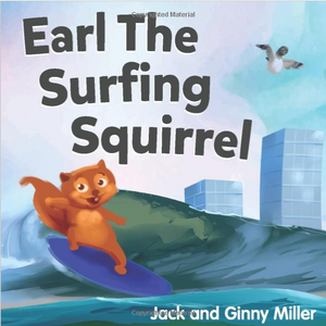 E-Book: Earl The Surfing Squirrel