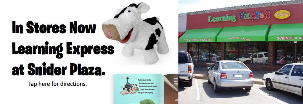 Buy Gurdy's Big Adventure at Snider Plaza in Dallas, Texas.