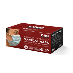 Level 1 mask box of 50 made in canada CNC Biomedical
