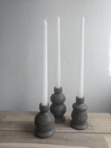 Large Charcoal Candlestick