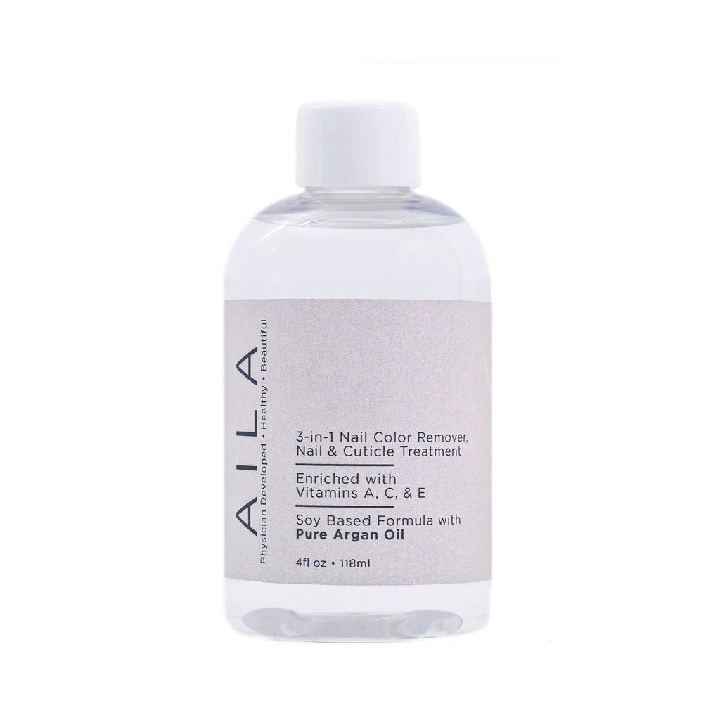 3in1 nail color remover with pure argan oil