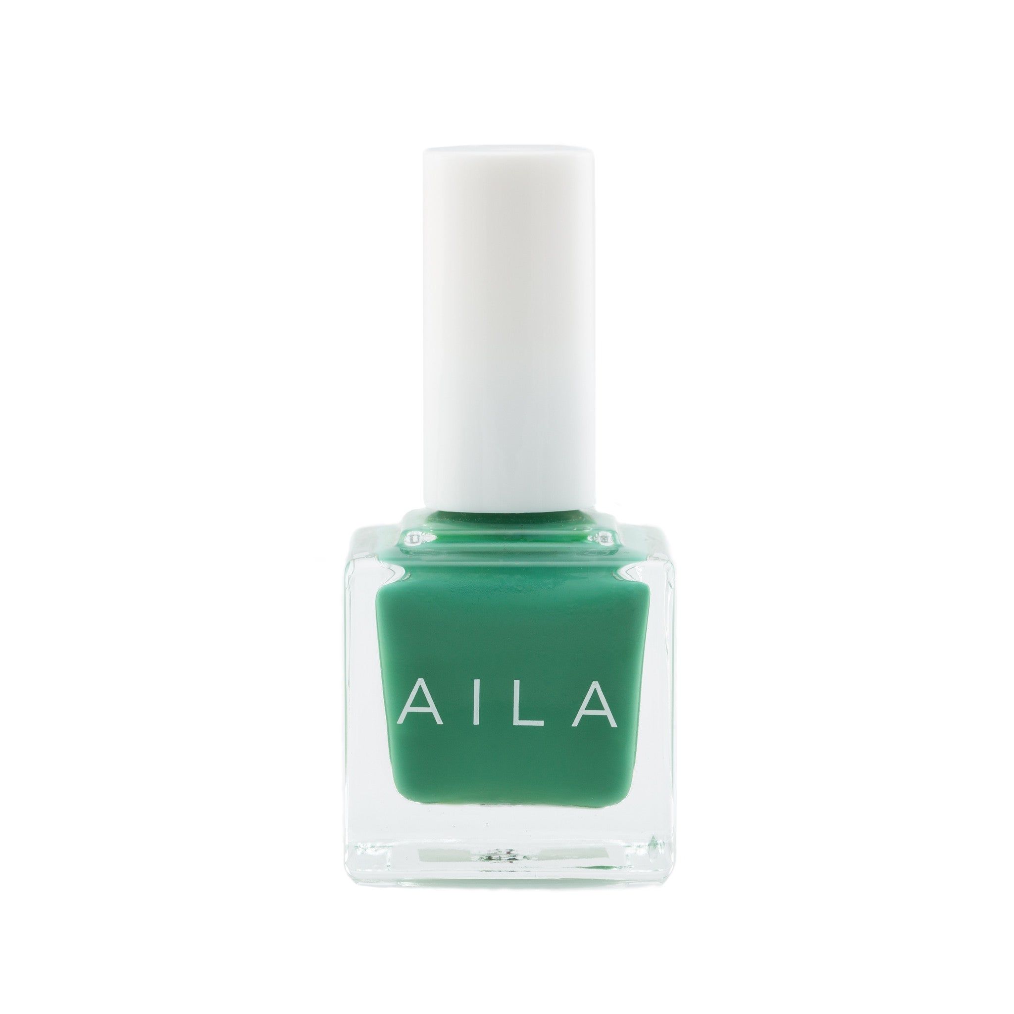 vegan Christmas green nail polish
