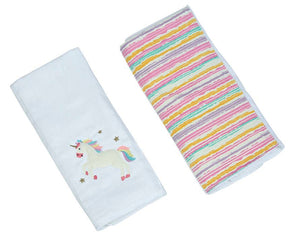 Trixie The Unicorn Double Burp Cloth Gift Set