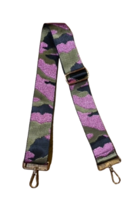 Army Green and Pink Metallic Camo 2