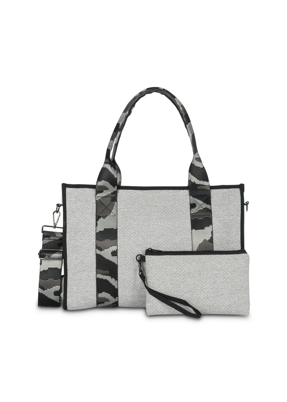 Crosstown Zipper Closure Tote