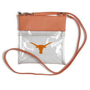 Clear Gameday Crossbody University of Texas