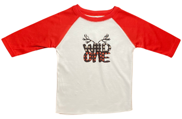 Boys Wild One Shirt