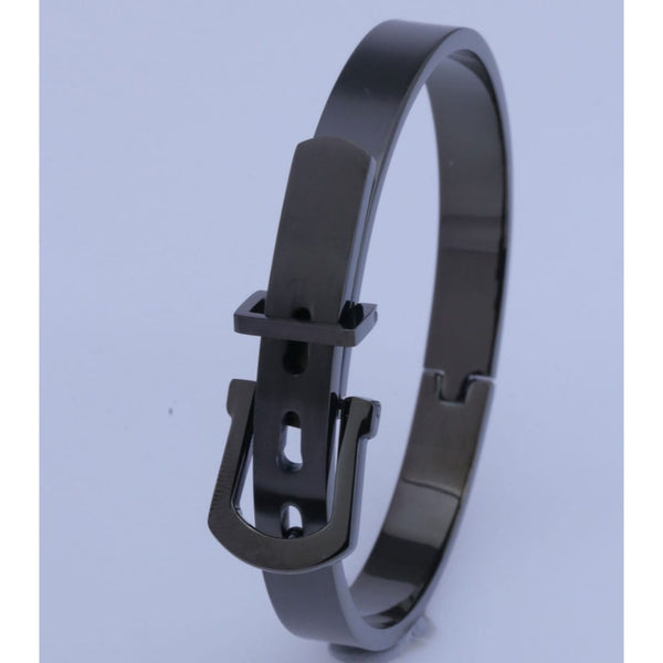 LOCKER FULL BLACK BRACELET