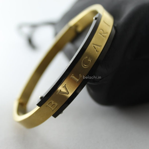 SHOCKER GOLDEN BLACK BRACELET