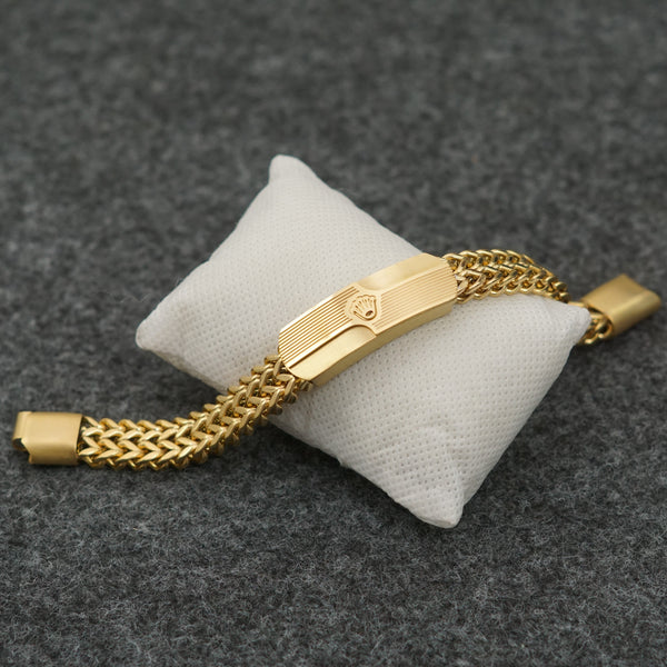 SEQUENCE  GOLD  BRACELATE