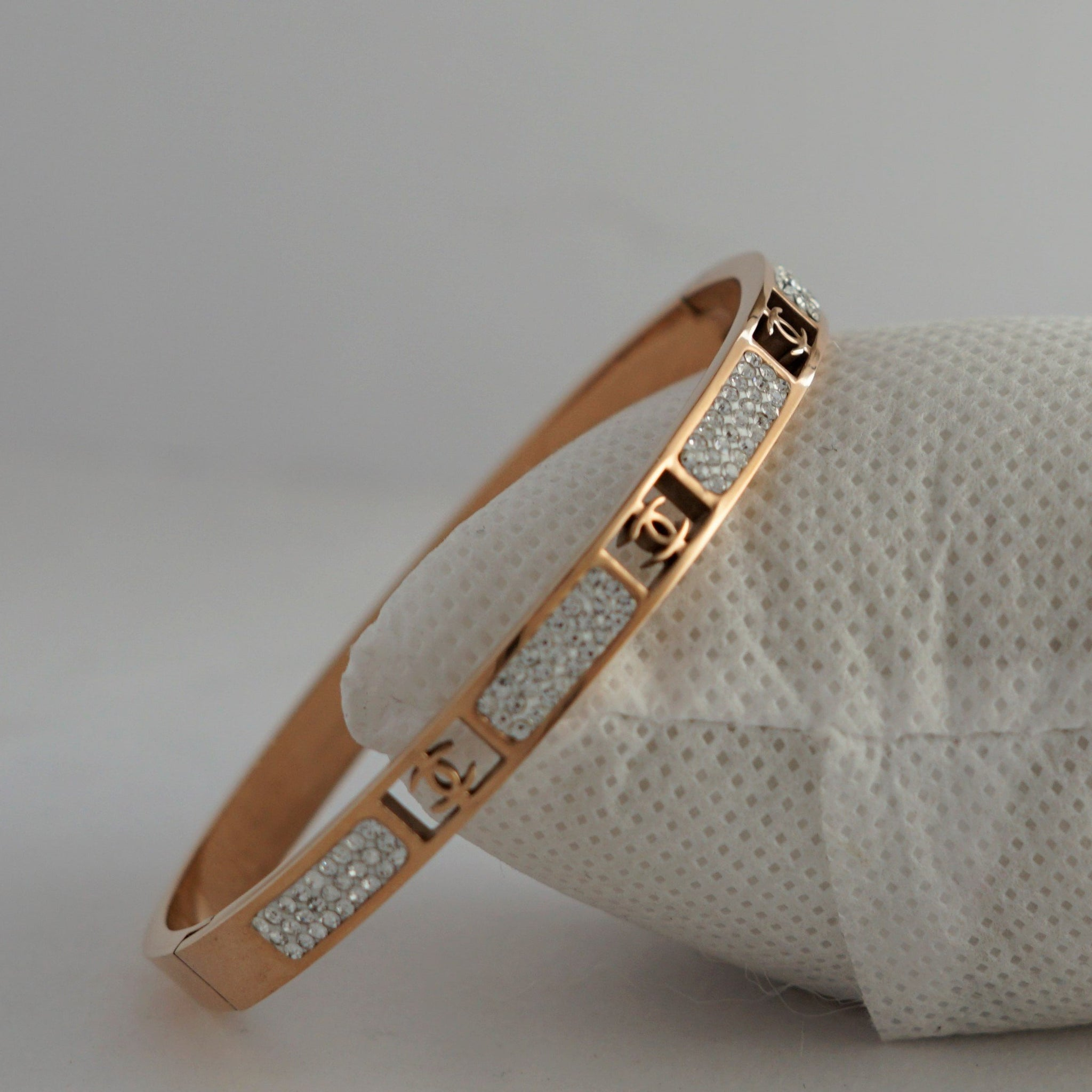 OCTOPUS ROSEGOLD DIAMOND BRACELATE