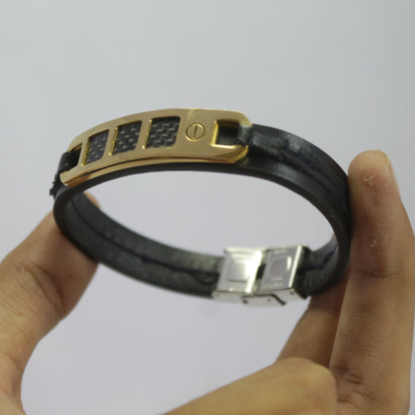 THING GOLDEN  LEATHER BRACELET