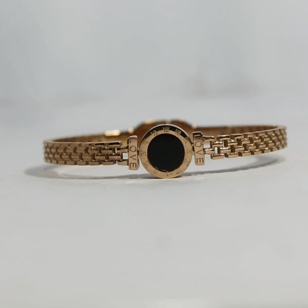 ROMAN LOVE ROSE GOLD PREMIUM BRACELET