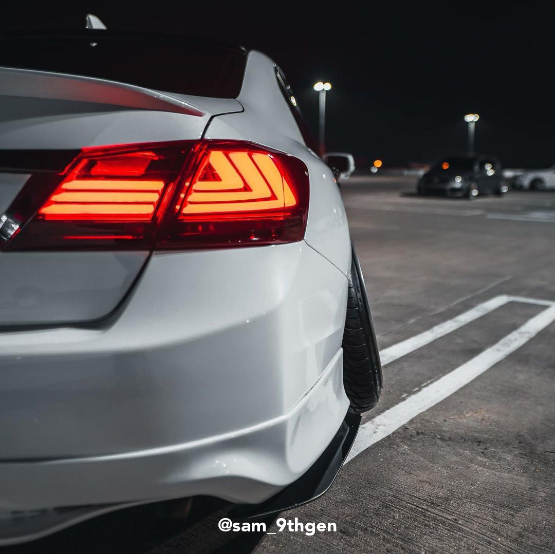 "[ACCORD 9TH] V1 ""LEXUS"" STYLE TAIL LIGHTS"