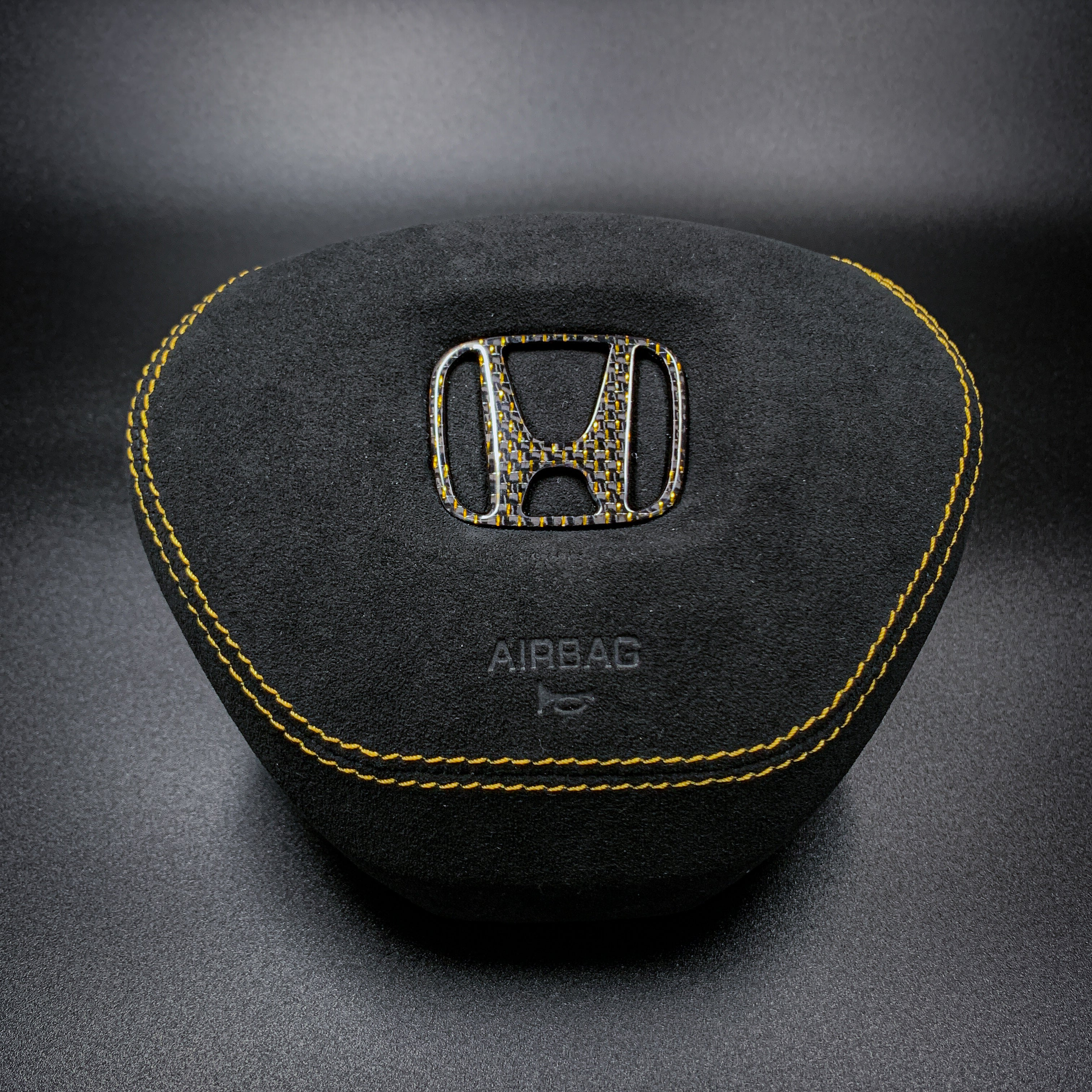 CUSTOM LEATHER AIRBAG COVER