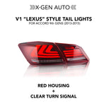 "Load image into Gallery viewer, [ACCORD 9TH] V1 ""LEXUS"" STYLE TAIL LIGHTS"