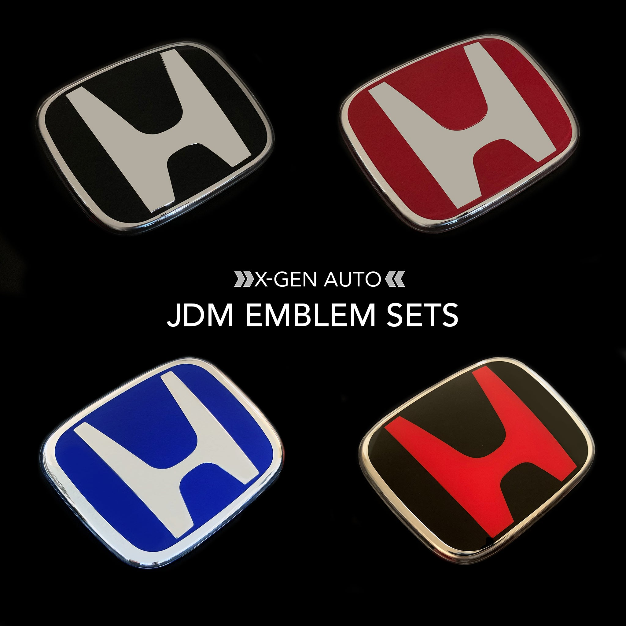 [CIVIC X] JDM EMBLEM SETS