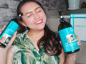 [Review] MUTOUCH GOAT'S MILK SHOWER CREAM & BODY LOTION HABBATUS SAUDA | Khansamanda