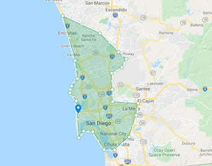 san diego maid service areas