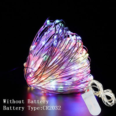 Copper Wire LED String Lights