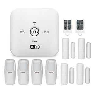 Home Security System THREE with Wi-Fi and Cellular Backup