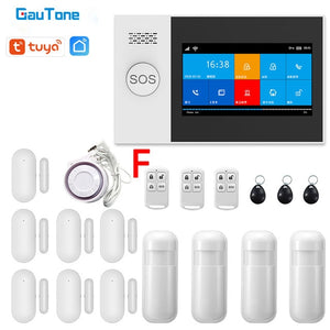 Home Security System ONE with 4.3 inch Display, Wifi and Cellular Backup