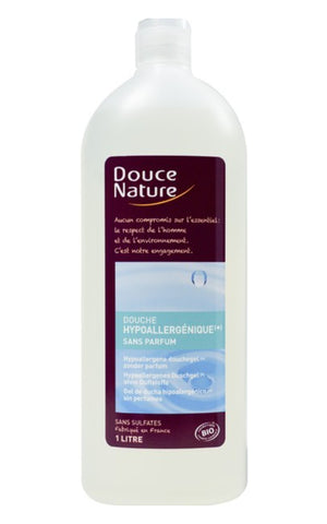 Douche sensitive hypoallergénique Douce Nature