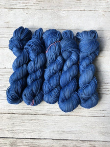 Deep Blue Sea Yak Sock