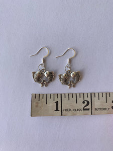 Double Fish Earrings