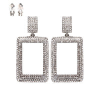 Load image into Gallery viewer, Rhinestone/Bling Clip Earring