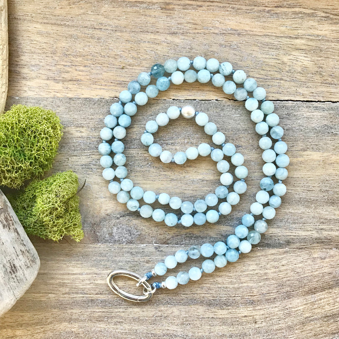 The mala comes with a Crystal Quartz charm (the other charms in the photos are for show only and can be purchased from our shop). If there's a specific stone that you'd like and don't see it here, please contact us and we'll do our best to find it.