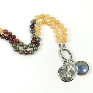 JOY OF LIFE Citrine Intention Necklace