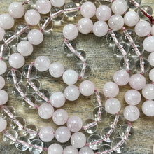 Load image into Gallery viewer, All About Love Rose Quartz Mala