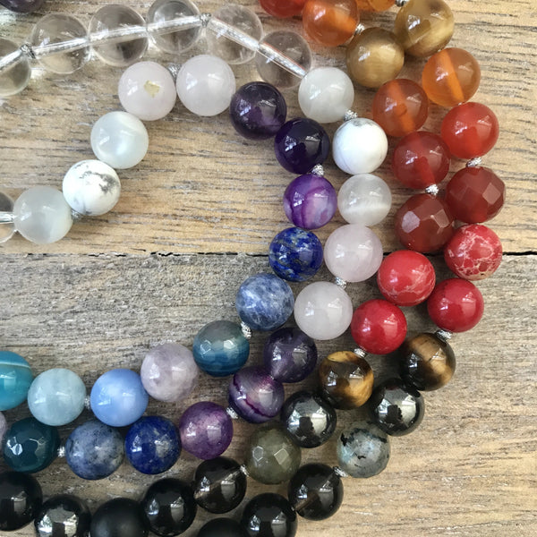 Positive Balance Mala Necklace
