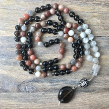 Load image into Gallery viewer, Moonstone Mala Beads