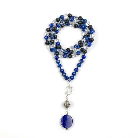 I am Truth~ Lapis Lazuli Mala Necklace