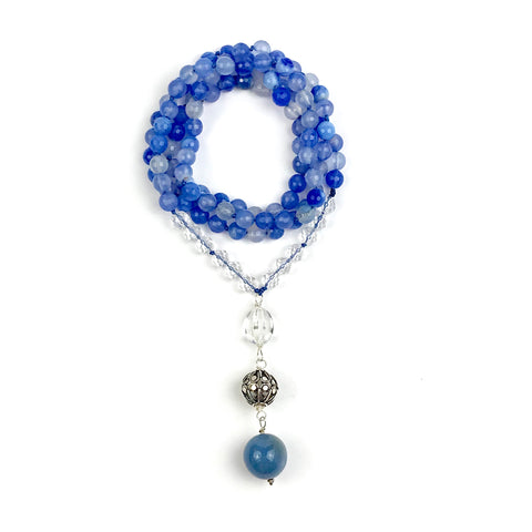 I'M COURAGEOUS~ Mala Necklace