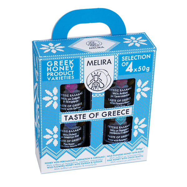 Taste of Greece Honey Giftpack - 4 Jars