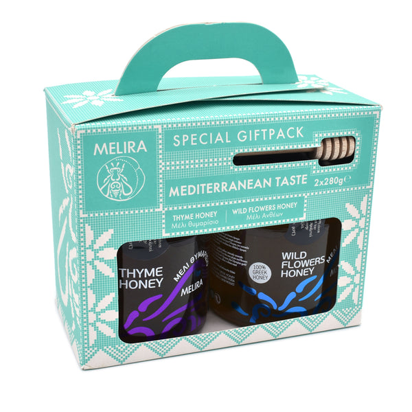 Mediterranean Honey Giftpack - 2 Jars