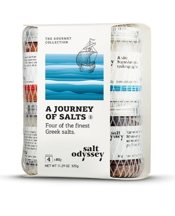 Finest Greek Salts Giftpack - 4 Jars