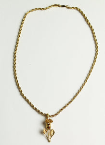 Rose Chain Necklace