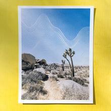 Load image into Gallery viewer, Abstract Lines Joshua Tree Art Print
