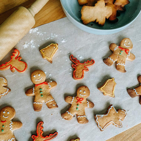 Gingerbread cookies - Dough it your own way